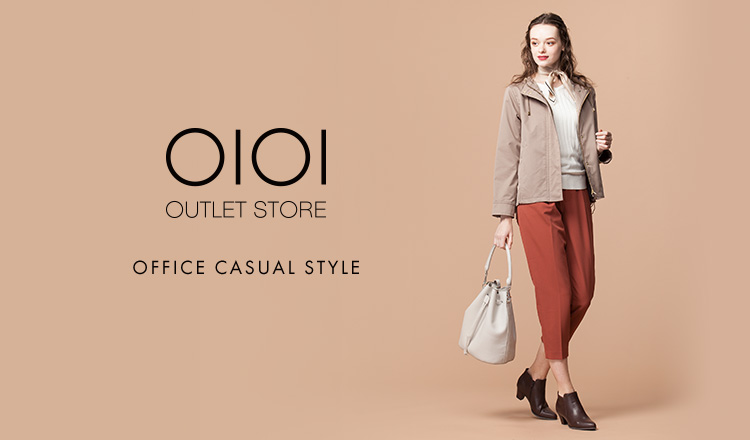 OIOI OUTLET STORE  -OFFICE CASUAL STYLE-