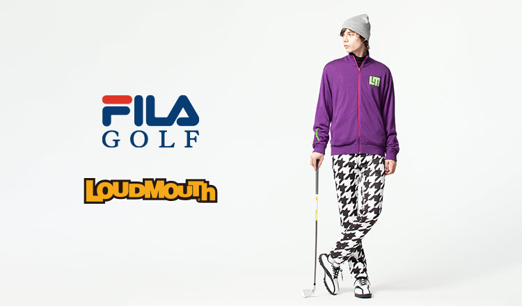 FILA GOLF & LOUDMOUTH MEN