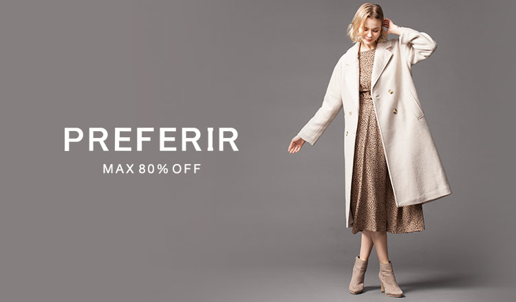 PREFERIR -MAX80%OFF-