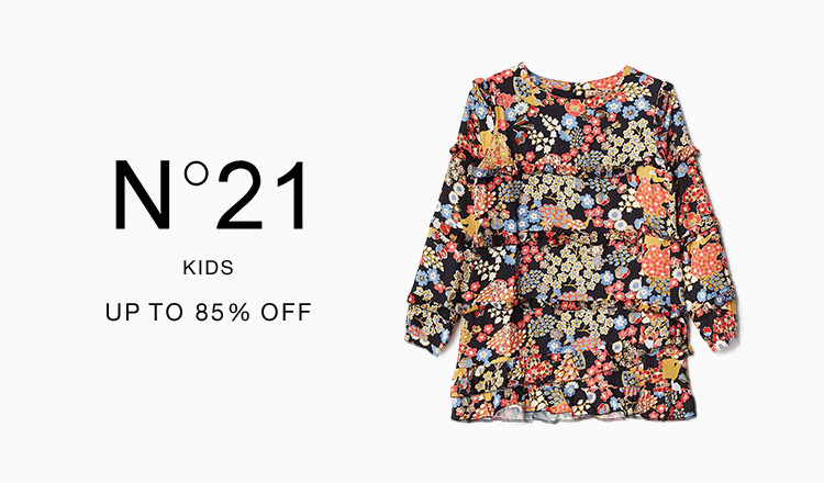 N°21 KIDS : UP TO 85% OFF