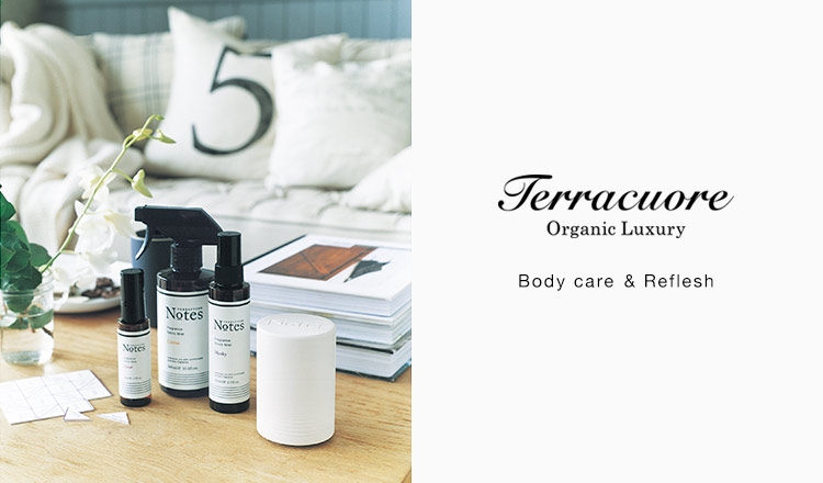 TERRACUORE Body care & Reflesh selection
