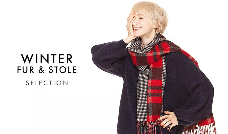 WINTER FUR& STOLE SELECTION -FINAL SALE-