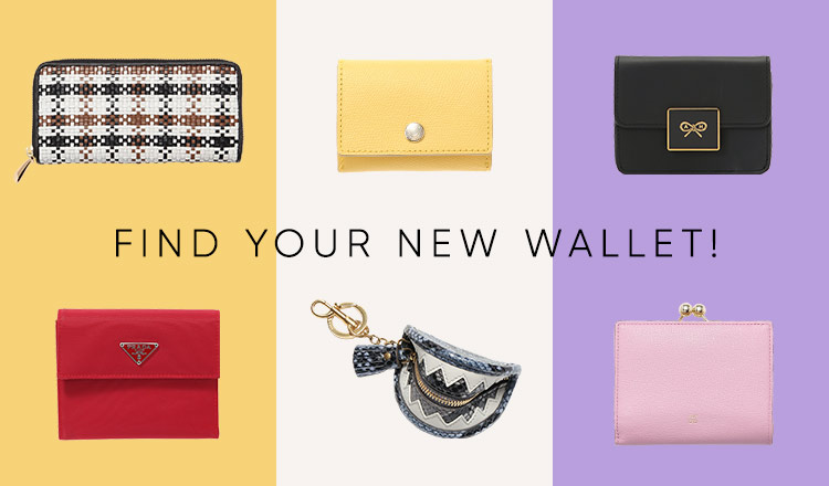 FIND YOUR NEW WALLET!!