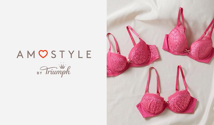 AMO STYLE by Triumph ブラジャー&ショーツセット