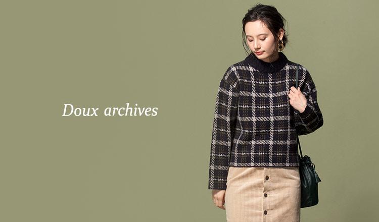 DOUX ARCHIVES -winter sale-MAX 80%OFF-