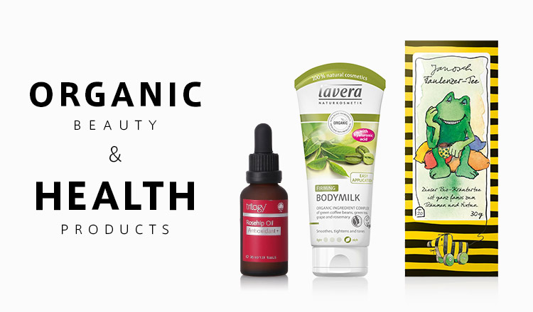 Organic Beauty & Health products