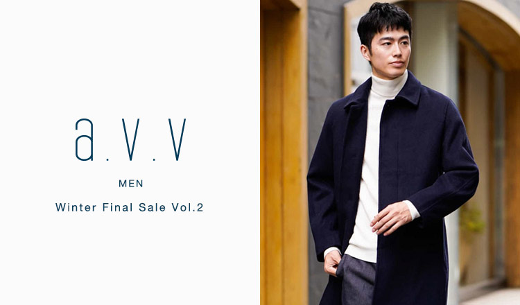 a.v.v Men -Winter Final Sale Vol.2-