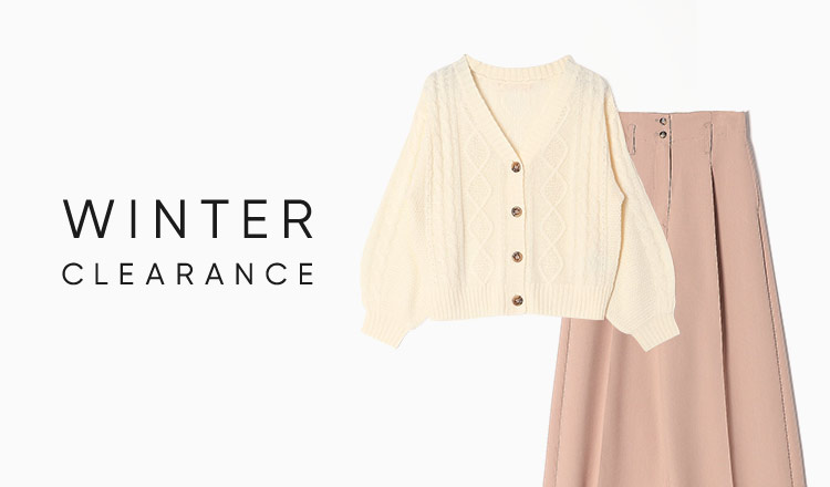 WINTER CLEARANCE -MAX90%OFF-