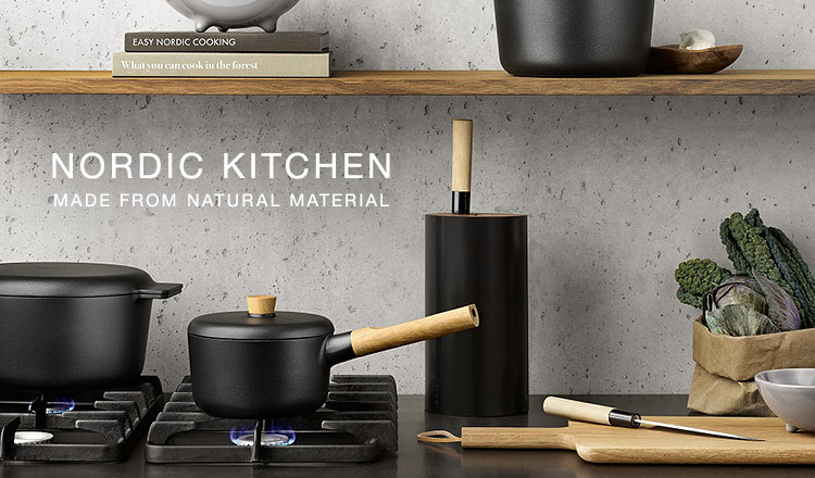 NORDIC KITCHEN  MADE FROM NATURAL MATERIAL