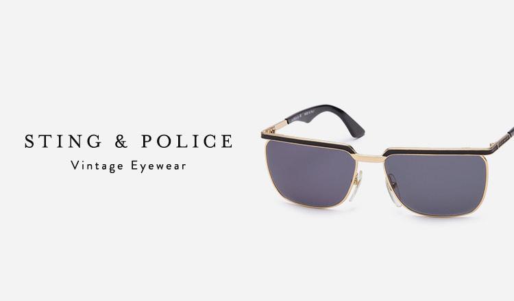 STING & POLICE : Vintage Eyewear