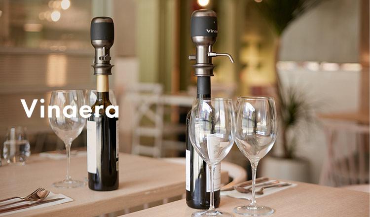 Vinaera-ワインが美味しくなる電動ワインディスペンサー-&ITALIAN WINE SELECTION
