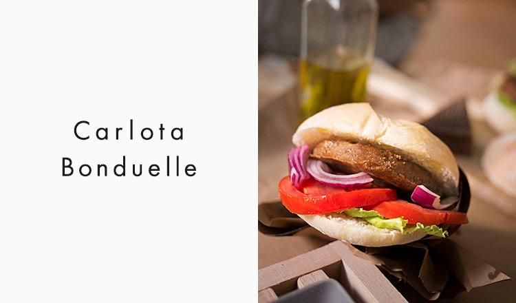 Carlota/Bonduelle-オーガニックベジハンバーグ-