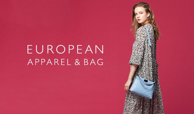 EUROPEAN APPAREL&BAG SELECTION