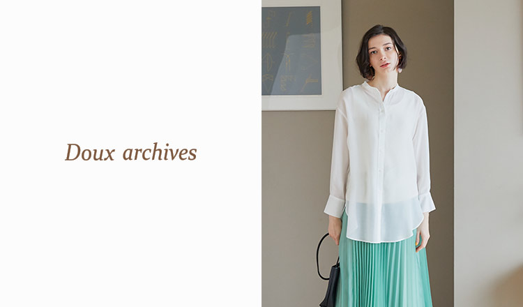 DOUX ARCHIVES -ALL 70%OFF-