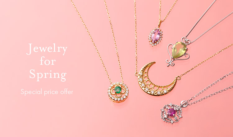 Jewelry for Spring -Special price offer-
