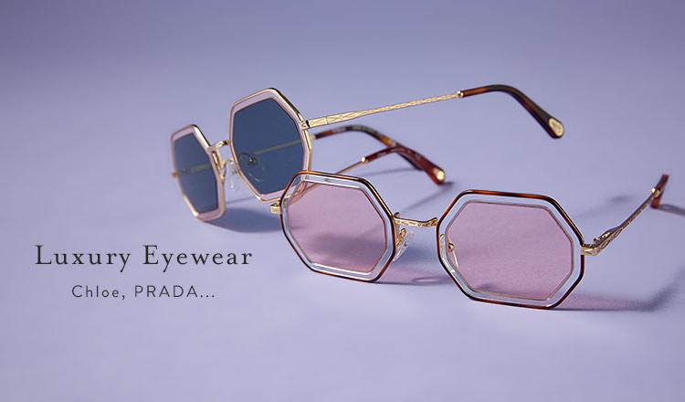 Luxury Eyewear -Chloe,PRADA-