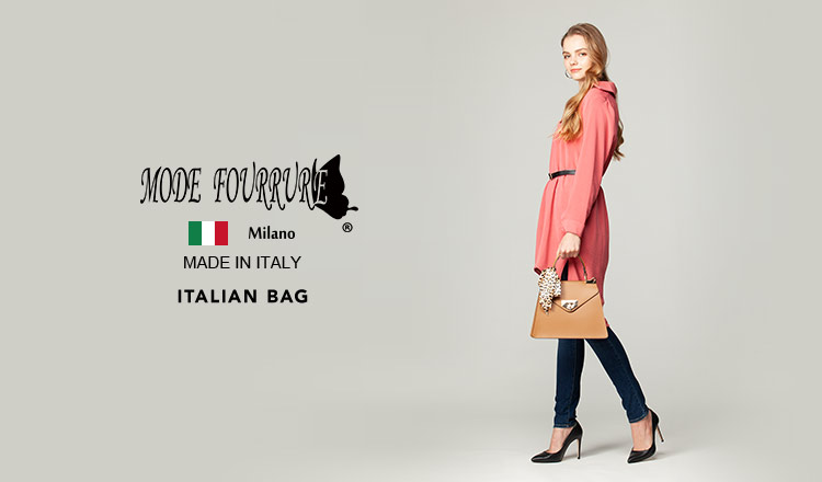 MODE FOURRURE -ITALIAN BAG SELECTION