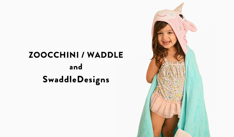 ZOOCCHINI, WADDLE, and SwaddleDesigns