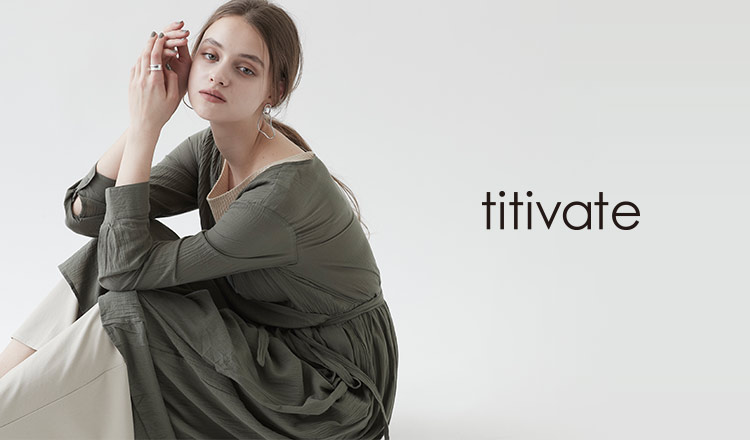 TITIVATE -Spring One Piece& Cardigan-