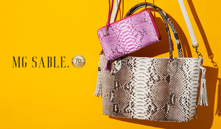 MG SABLE -EXOTIC LEATHER COLLECTION-