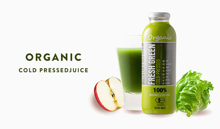 ORGANIC COLD PRESSED JUICE