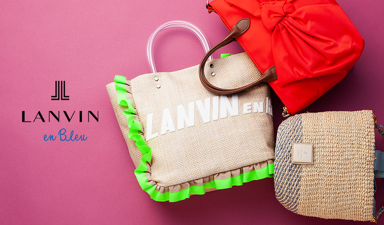 LANVIN EN BLEU -BAG-