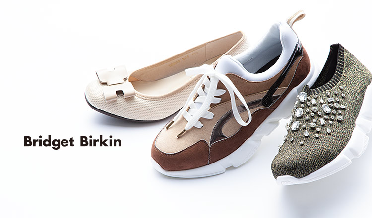 BRIDGET BIRKIN for Walking