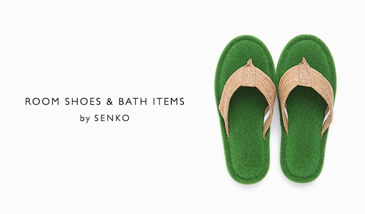 ROOM SHOES & BATH ITEMS by Senko