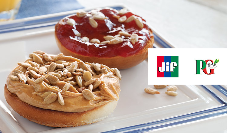 Jif / PG Tips -全米No.1ピーナッツバター/英国老舗紅茶ブランド-