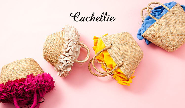 CACHELLIE -BASKET BAG COLLECTION-