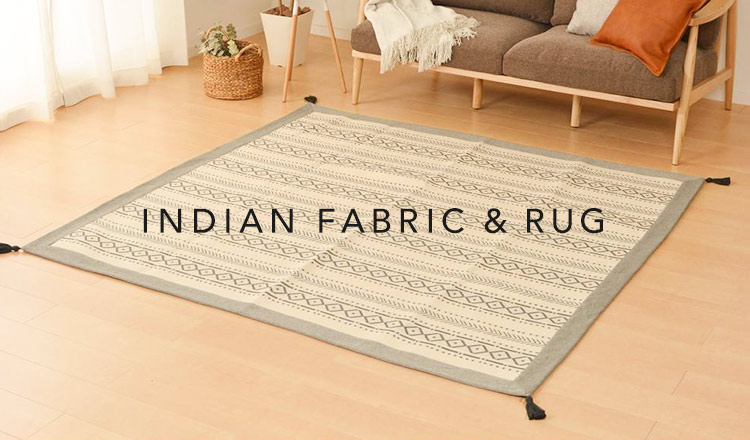 INDIAN FABRIC & RUG