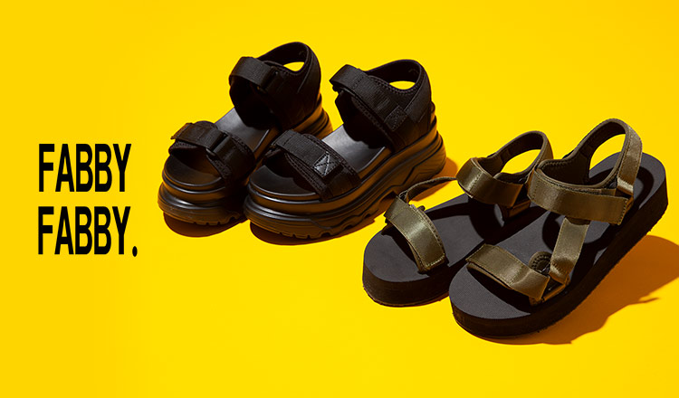 FABBY FABBY -SANDAL COLLECTION-
