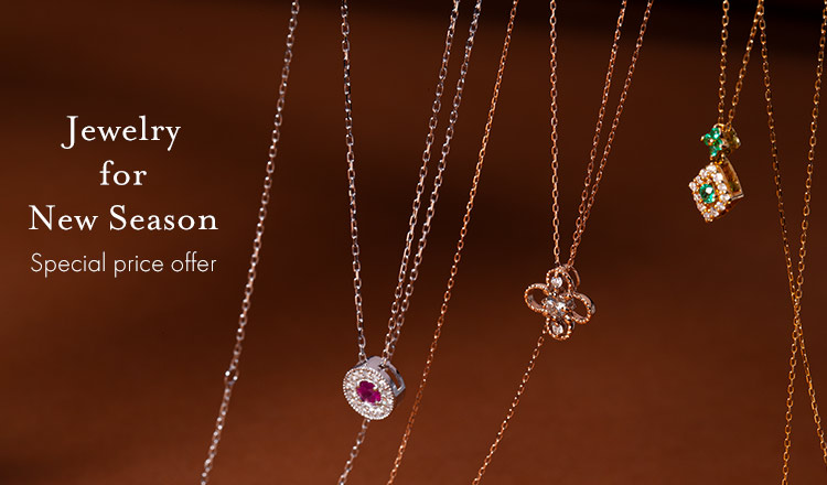 Jewelry for New Season