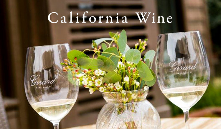 California Wine Selection