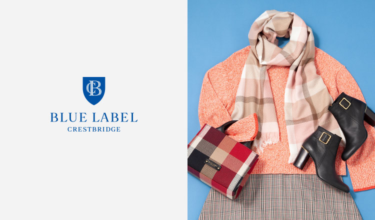 BLUE LABEL CRESTBRIDGE -Off Season Item Max 83%OFF-