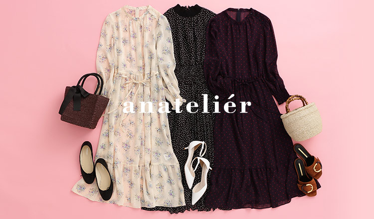 ANATELIER  Pick Up One-Piece Style