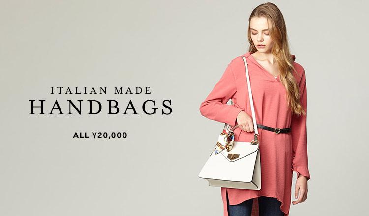 ITALIAN MADE HANDBAGS  ALL¥20,000