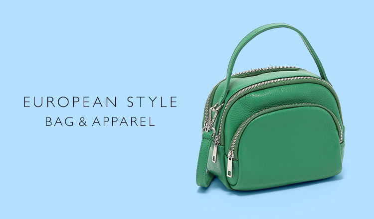 EUROPEAN STYLE BAG & APPAREL SELECTION