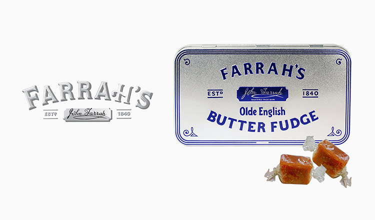 FARRAH'S-1840年から続く老舗のトフィー&バターファッジ-