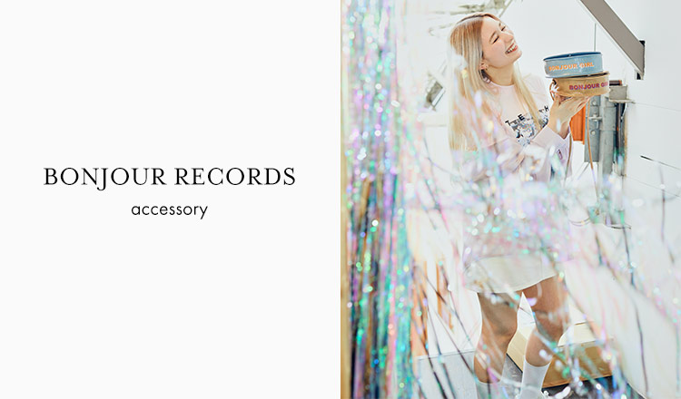 BONJOUR RECORDS - accessory -