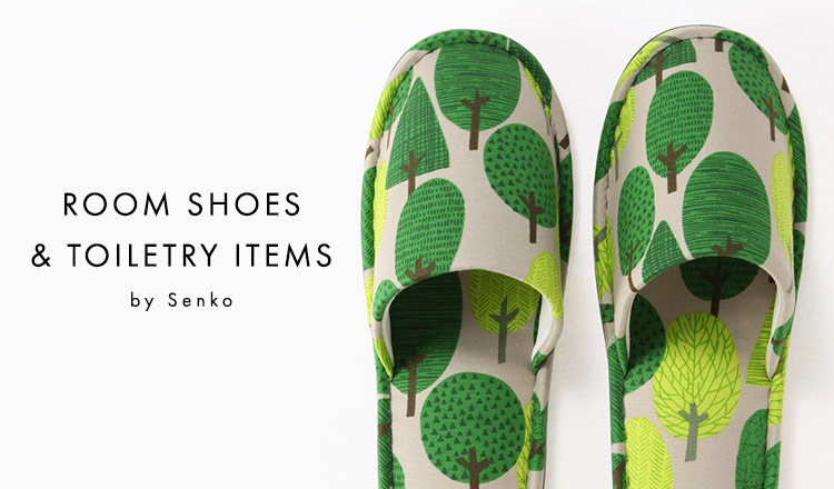 ROOM SHOES & TOILETRY ITEMS by Senko