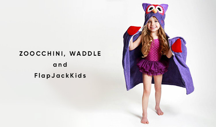 ZOOCCHINI, WADDLE, and FlapJackKids