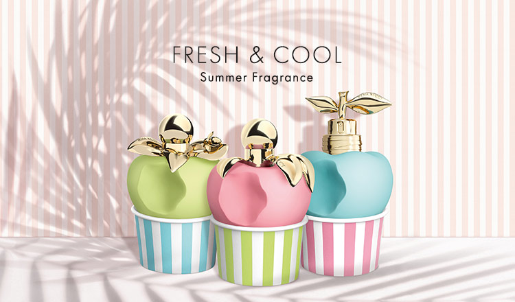 FRESH&COOL-Summer Fragrance Selection-