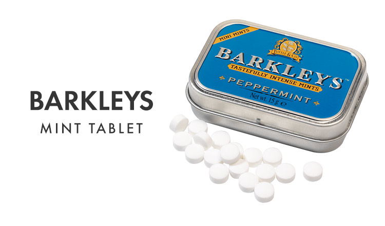 BARKLEYS-世界50カ国以上で愛されるミントタブレット-