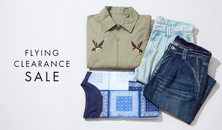 FLYING CLEARANCE SALE