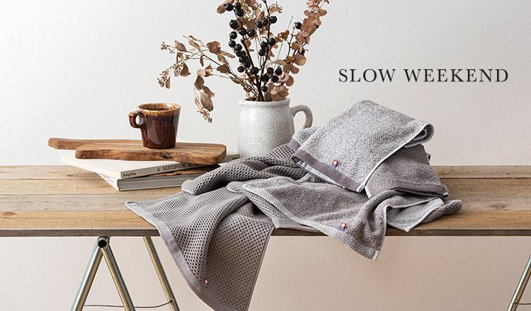 Slow Weekend-今治産タオル-
