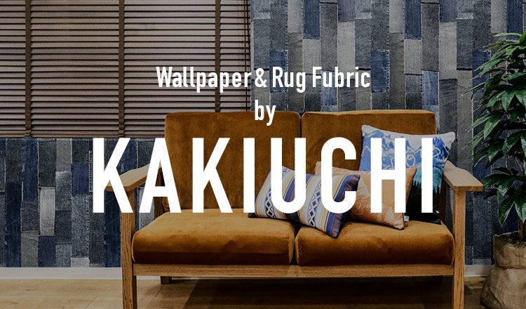 Wallpaper & Rug Fubric by KAKIUCHI