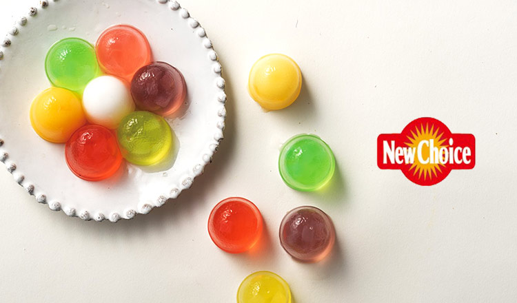 New Choice -冷やして食べたいナタデココ入りフルーツゼリー-
