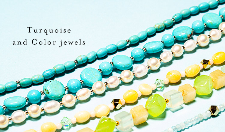 Turquoise and Color jewels