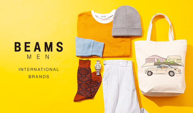BEAMS MEN : International Brands